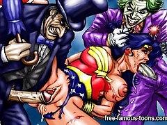 Hentai heroes group sex
