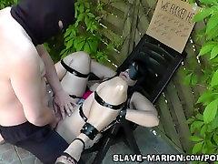 Sex sanenela xxx vido bondaged, barebacked and creampied