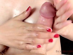 Close-Up: Sensual Tit Fuck Handjob