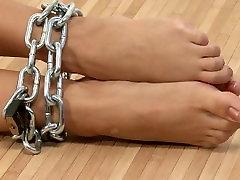 Alnetta in Chain Bondage