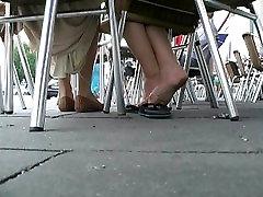 Asian Flip Flop Business Girl