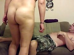 Big-assed girl femdom shemale cougar rough riding hardcore!!