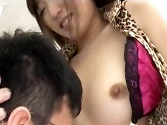 Licking A Japanese Babe