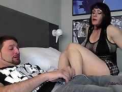 stinky feet and ball kicking torture for pussy boyfriend
