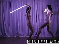 NubileFilms - Trembling orgasms for petite lesbians