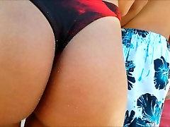 bikini hot in the queue