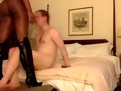 tranny hooker fucks him rough