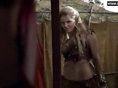 Ellen Hollman - Explicit Group tiny dickk, Topless, Butt - Spartacus s03e01 2013