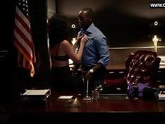 Lisa Edelstein - Doggystyle in room gangbang Scene, Black Lingerie - House of Lies