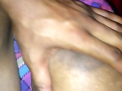 real amateur orgasm wet pussy with HUGE TITTIES