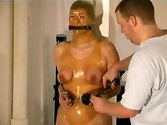 girl in rubber bondage