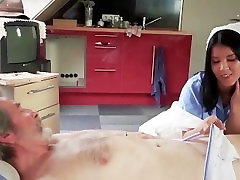 Young secretary seduces boss big old cock with blowjob mouth cumshot