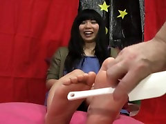 Bare Feet: Clean & Messy with Tickling & Crushing