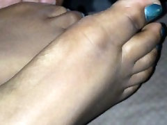 Playing With sexamerican pinay feet
