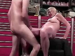 Granny fucks a mechanic