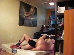 2 hot fuckers wrestling naked