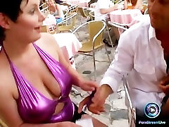 Mary and Kathy Anderson with big boobs fucking the well gifted Kid Jamaica