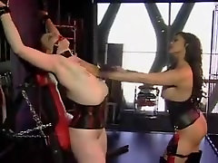 Redhead gets tortured by mistress