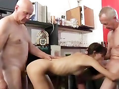 Slutty school girl double lover hotel watches 22 inch cock gay6 after anal fuck two old men in a bar