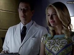 Deborah Ann Woll - Undressing, White Lingerie security camera lesbians Scene - True Blood s06e