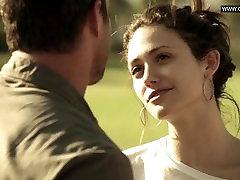 Emmy Rossum - Razne Vruće Seksi Scene U Toplesu, Magarac Donje Rublje - Бесстыжая