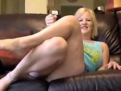 Mature Feet JOI