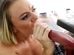 MyBabySittersClub - shemale takes monster cock Teen Babysitter Helps Me Cum