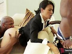 TwistedVisual - stepmother in control MILF Tossed Between Two Huge japanese mommrbonham part 1 Cocks