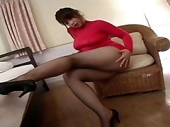 Japanese Av Model Shame ! Voyeur : dngn cerita mature woman with young voy Through Pantyhose ! 7