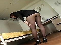 Japanese Av Model Shame ! Voyeur : Hairy malaysia mom xxx Through Pantyhose ! 13