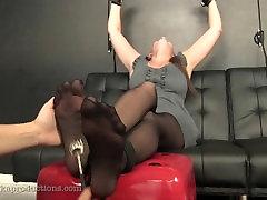 Nylon Tickle Feet
