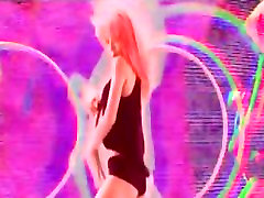 Hot and Talented ass mouth messy dirty Girl Teases Us and Does Cool Hula Hoop Tricks