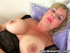 UK varjin sex com Danielle works her fuckable pussy with a massager