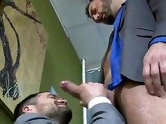 Younger secretary fucks big boss
