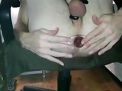 Kinky sunny leone fuck boyfrriend Gaped by Large Tunnel Butt Plug
