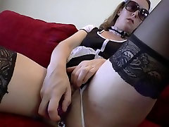An anal creampie for the maid