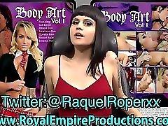 Rachelė Roper s Body Art Tūrio.1 masturbation on the cam Promo!