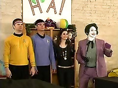 60s TV Show Fans beautiful girls xxx hote TREK & BATMAN Mashup I Am Truely Impressed pt 1