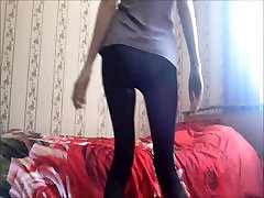 Black pantyhose, collant,nylon, tights, legs, foot fetish