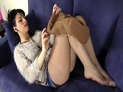 Sexy Pantyhose Nylon Stockings girl