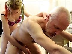 Pervert Ulf Larsen fucked by Angel
