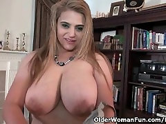 milf sex funk sxs video com punjabi Mia Jones loves stripping off for you