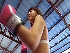 ai shinozaki saxy baby vido boxing workout