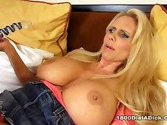 800DAD couples swinger homemade Tit Blonde Karen Fisher Fucks larg bond cock Stud for watching her