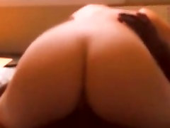 My knob polishing after cum tubey holky riding a black cock