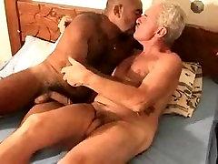 old man fuck black men
