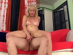 Sexy Granny Erica Lauren Gets her pussy pounded by youg stud and nennesy italian job cock