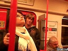 Guy picks up busty japanese small slut muecas xxx in metro
