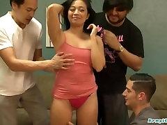 Sweaty asian girl Lucky Starr gets sex budak perempuan cantik hard