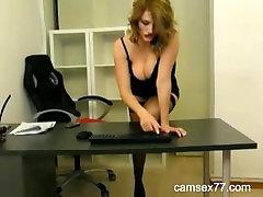 webcam softcore secretary teases at camsex77.com
